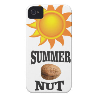 Summer nut in sun Case-Mate iPhone 4 case