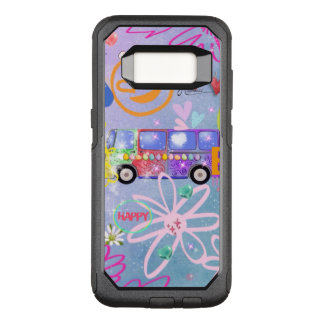 summer of love - the 60s OtterBox commuter samsung galaxy s8 case