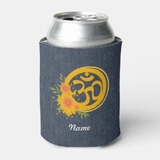 Summer Om Symbol Can Cooler