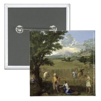 Summer, or Ruth and Boaz, 1660-64 15 Cm Square Badge