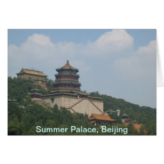 Summer Palace, Beijing, Summer Palace, Beijing Card