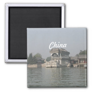 Summer Palace Square Magnet