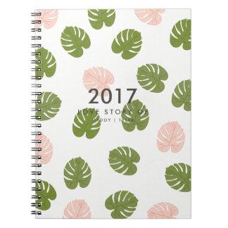 Summer Palm Notebook