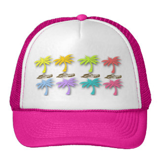 Summer Palm Trees hat