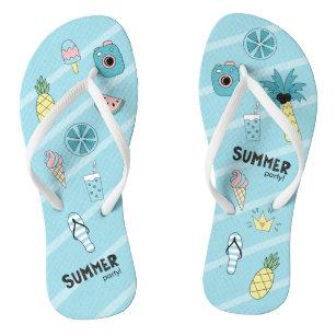 053ec7fff8538d Beach Theme Thongs   Sandals