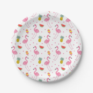 Summer Party Paper Plate
