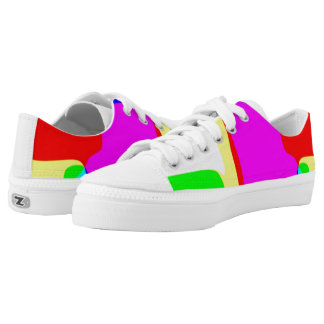 Summer party printed shoes