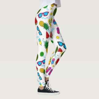Summer Pattern Leggings