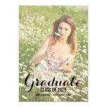 Summer Photo Filter Photo Graduate Party Invite 13 Cm X 18 Cm Invitation Card