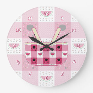 Summer Picnic Clock