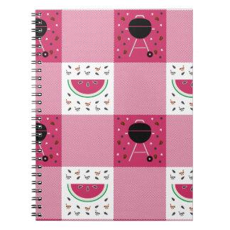 Summer Picnic Notebook