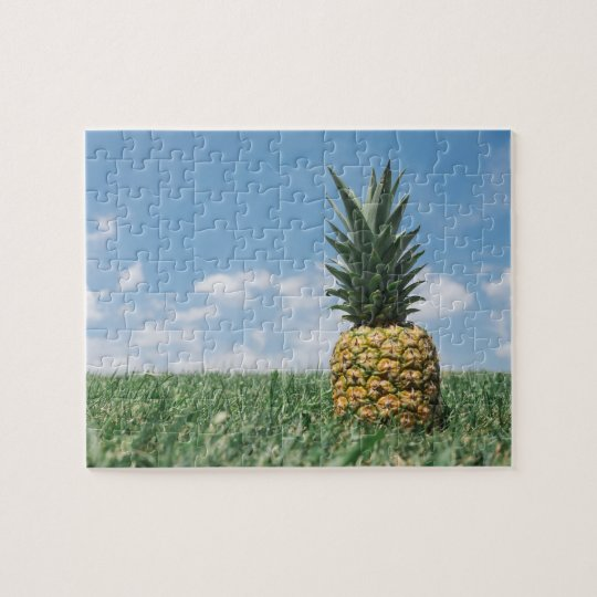 Summer Pineapple Jigsaw Puzzle