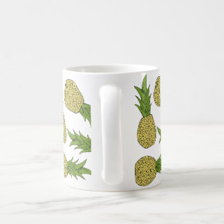 Summer Pineapple Pattern Mug