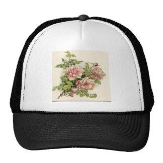 Summer Pinkish Rose Hat