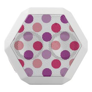 Summer Polka Dots White Boombot Rex Bluetooth Speaker