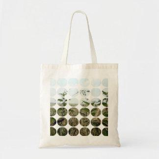 Summer Polka Dots Fields Skies Canvas Bags