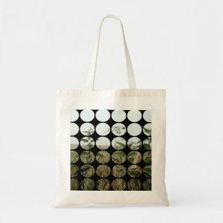 Summer Polka Dots Fields Skies Tote Bags