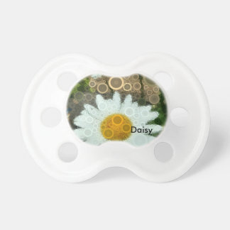 Summer Pop Art Concentric Circles Daisy Baby Dummy