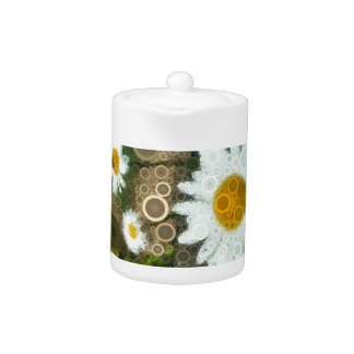 Summer Pop Art Concentric Circles Daisy Home