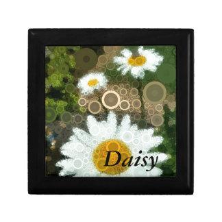 Summer Pop Art Concentric Circles Daisy Home Gift Box