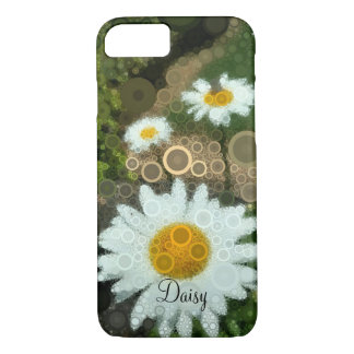 Summer Pop Art Concentric Circles Daisy iphone iPhone 8/7 Case