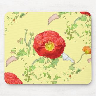 Summer poppies mousepads