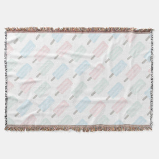 Summer Popsicles Throw Blanket