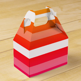 Summer Print Favor Boxes