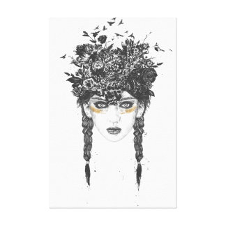 Summer Queen Canvas Print
