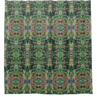 Summer Reblooming Daylily Garden Shower Curtain