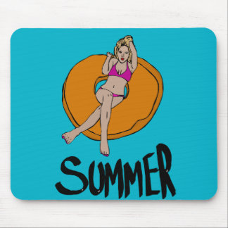 Summer relax mouse pad