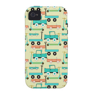 Summer Retro Wheels Scooters Cars Wagons Trucks Vibe iPhone 4 Covers