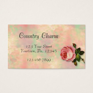 Summer Rose Business Card