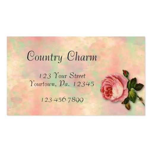 Summer Rose Business Card