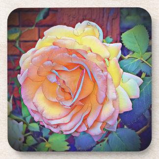Summer rose coaster