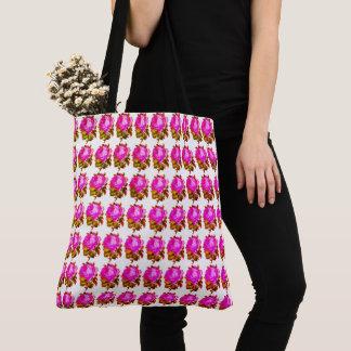 Summer-Roses-Floral-Vintage-Vivid--Totes--Bags Tote Bag