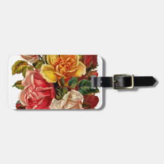 Summer Roses Luggage Tag