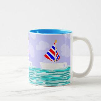 Summer Sailboat Coffe Mug