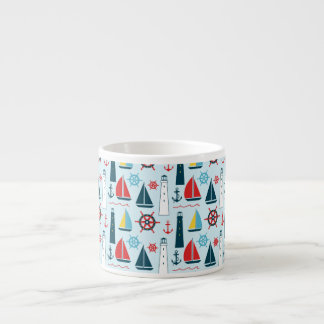 Summer Sailing in the Bay Espresso Cup