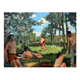Summer Scene, 1869 Postcard