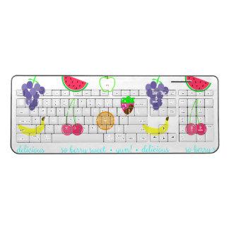 Summer Scents Wireless Keyboard