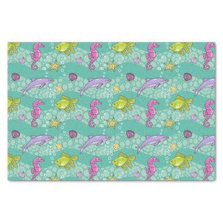 Summer Sea Pattern Tissue Paper