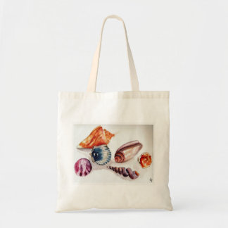 Summer Sea Shells Beach Bag