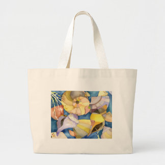 Summer Sea Shells Beach Vacation Tote Bag