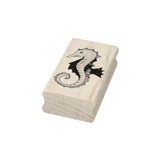 Summer Seahorse Sea Horse Seahorses Rubber Stamp