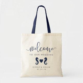 Summer Seahorse Wedding Welcome Bag