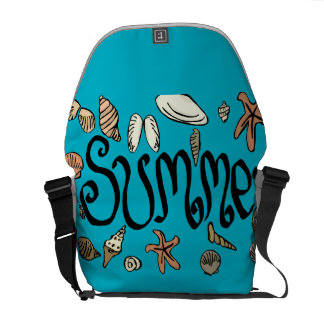 Summer shells commuter bag
