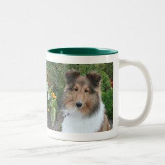 Summer Sheltie Mug