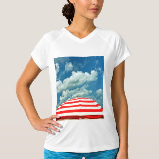 Summer Sky Beach Umbrella Tee