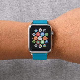 Summer Sky Blue Gradient Fade Apple Watch Band